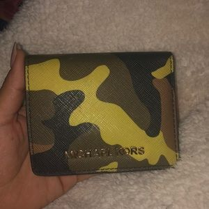 Michael Kors Camo Wallet